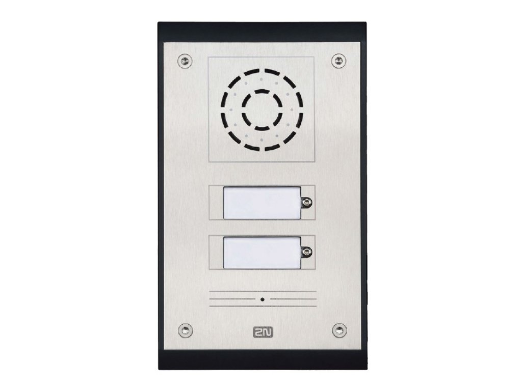 2N IP Uni 2 button Intercom 9153102 Image 1