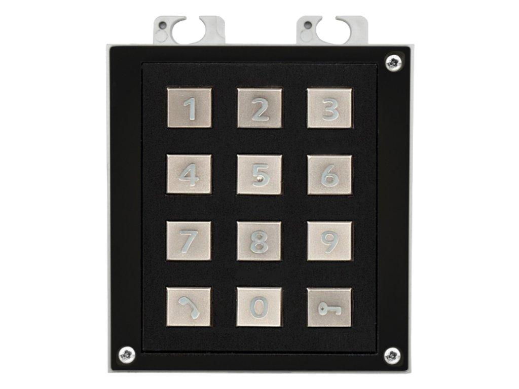 2N IP Verso Keypad Module in Black - Image 1