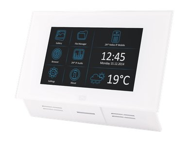 91378365WH Indoor Touch White Side Angle 1