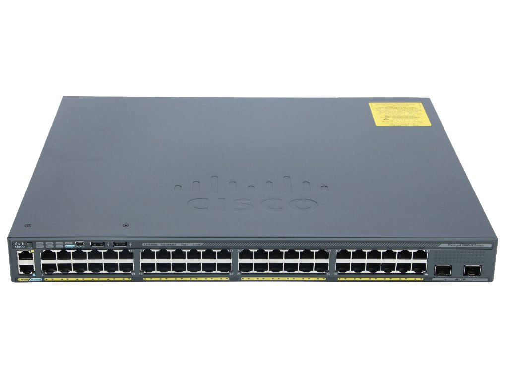 WS-C2960X-48LPD-L Switch