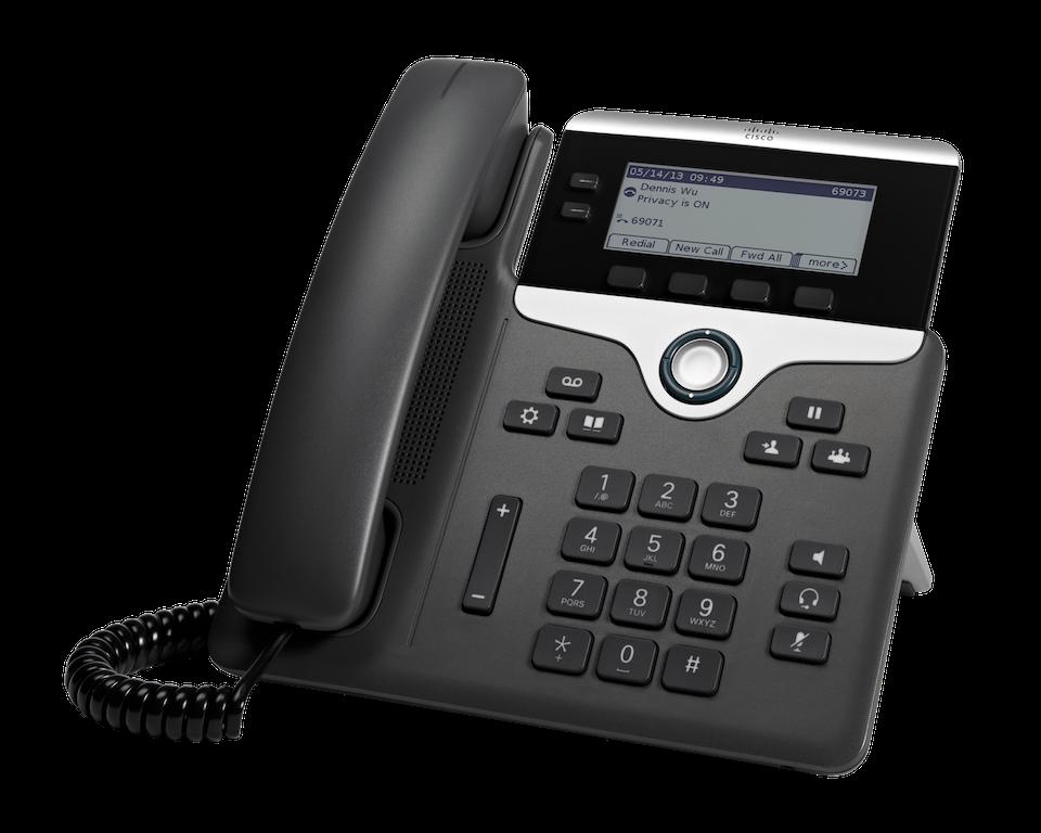 Cisco 7821 IP Phone 2 line / 2 SIP Account (SIP ONLY)