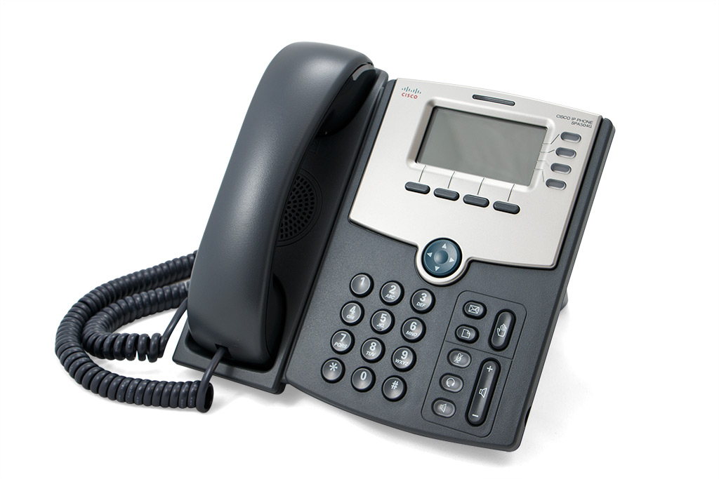 Cisco SPA504 IP Phone Side