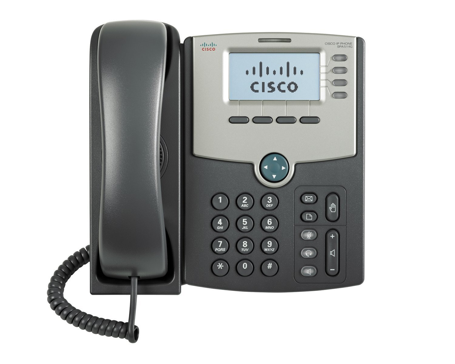 Cisco SPA514 IP Phone Front