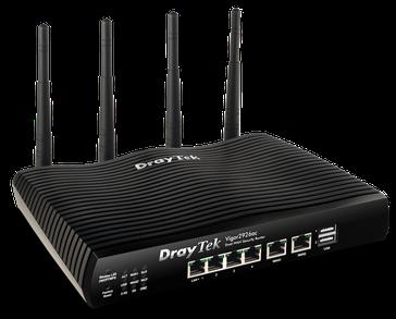 Draytek 2926AC router front