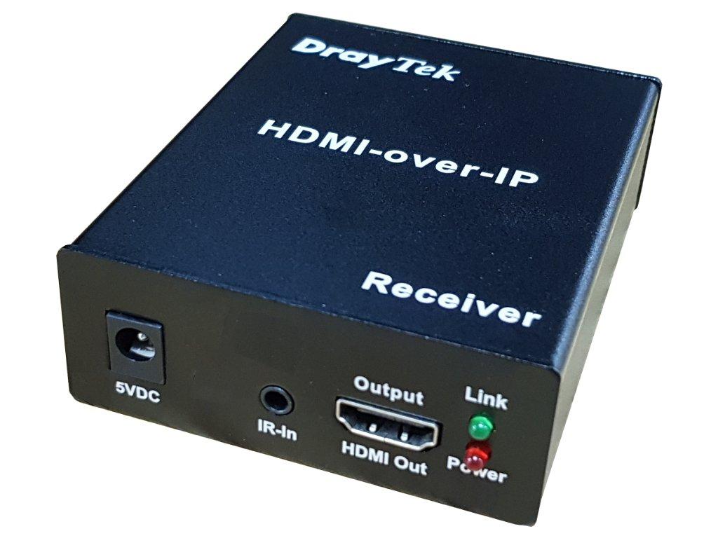 Draytek HVE290RX Switch FrontLeft