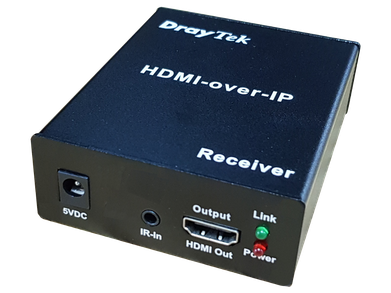 Draytek HVE290RX Switch FrontLeft