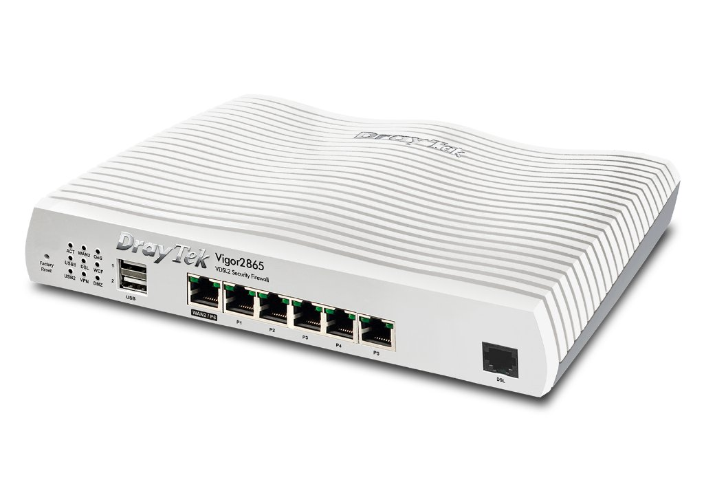 New Draytek Vigor 2865 Dual-WAN VPN Router Now Available