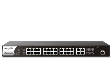 DrayTek P-2280 Switch Front