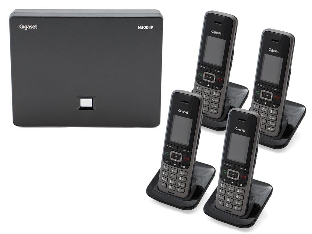 Gigaset N3004S650 DECTIPPhone Bundle