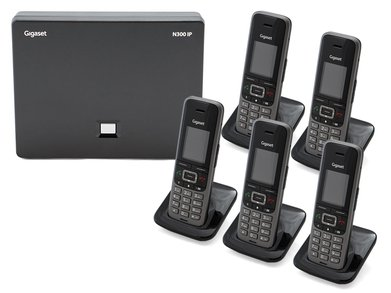 Gigaset N3005S650 DECTIPphone Front