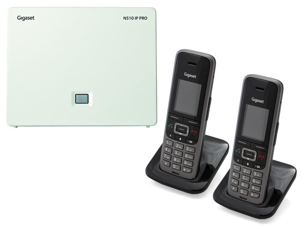 Gigaset N5102S650H DECTIPphone front