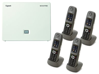 Gigaset N5104R650H DECTIPPhone Bundle