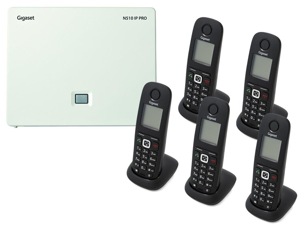 Gigaset N5105A540H DECTIPphone Front