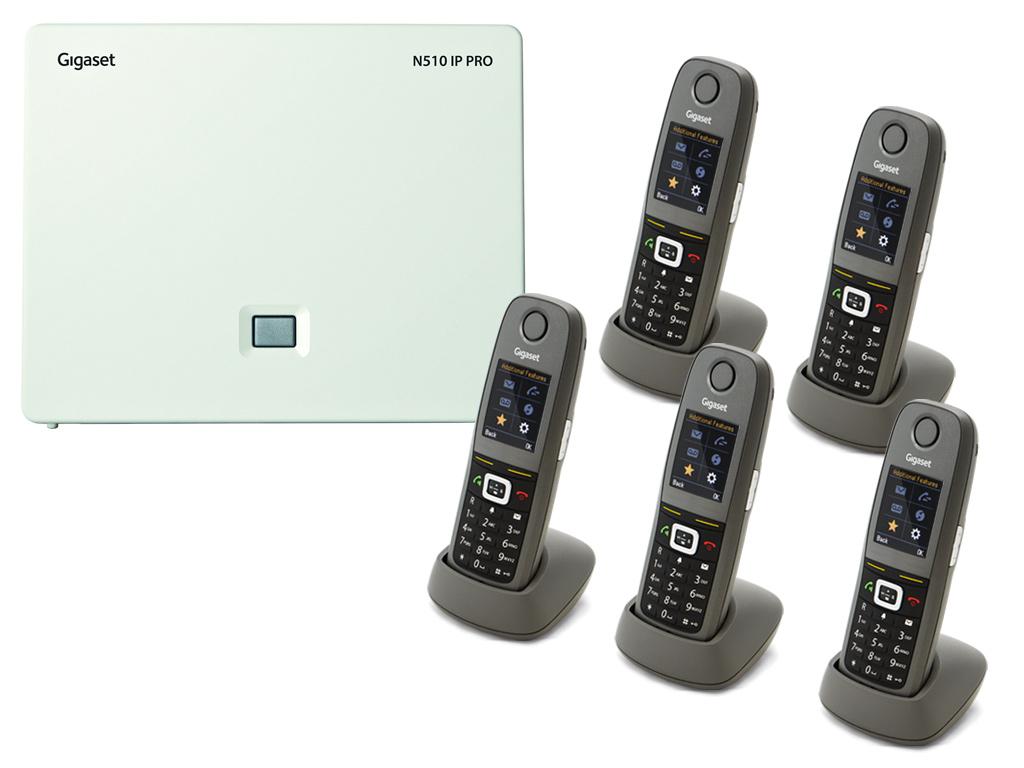 Gigaset N5105R650H DECTIPphone Front