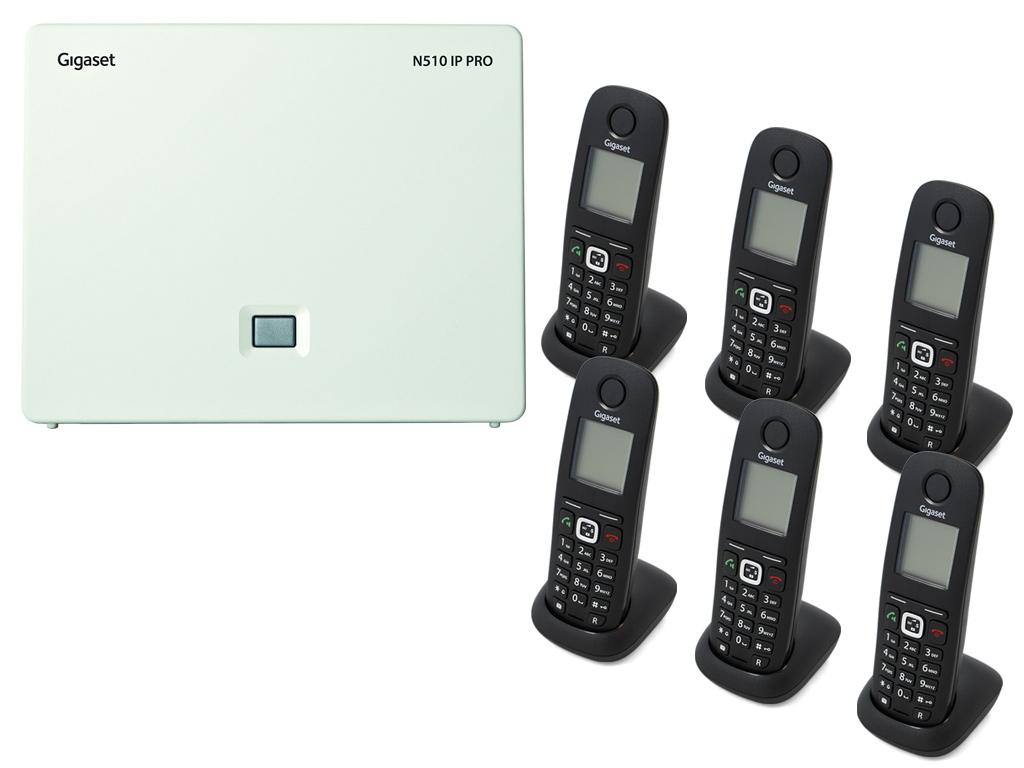 Gigaset N5106A540H DECTIPphone Front