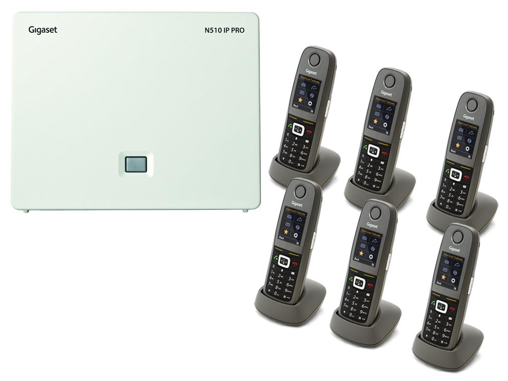 Gigaset N5106R650H DECTIPphone Front