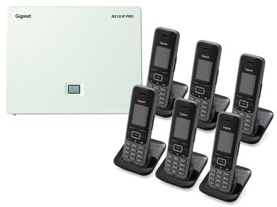 Gigaset N5106S650 DECTIPphone front