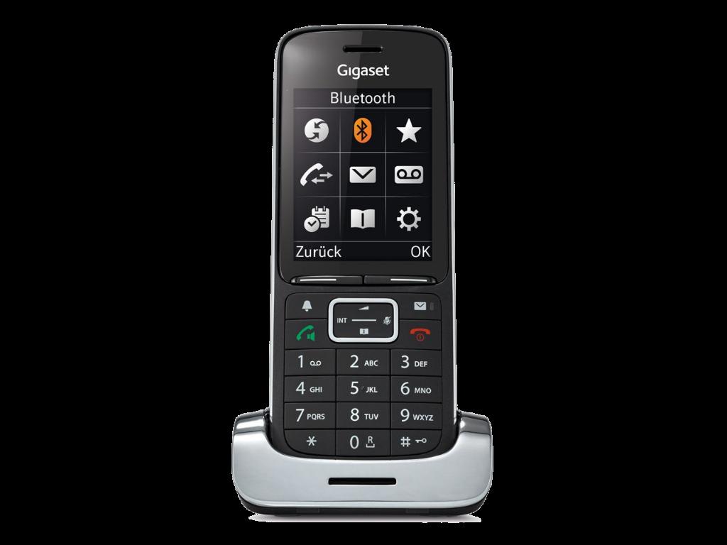 Gigaset SL450HX DECTIPphone black front