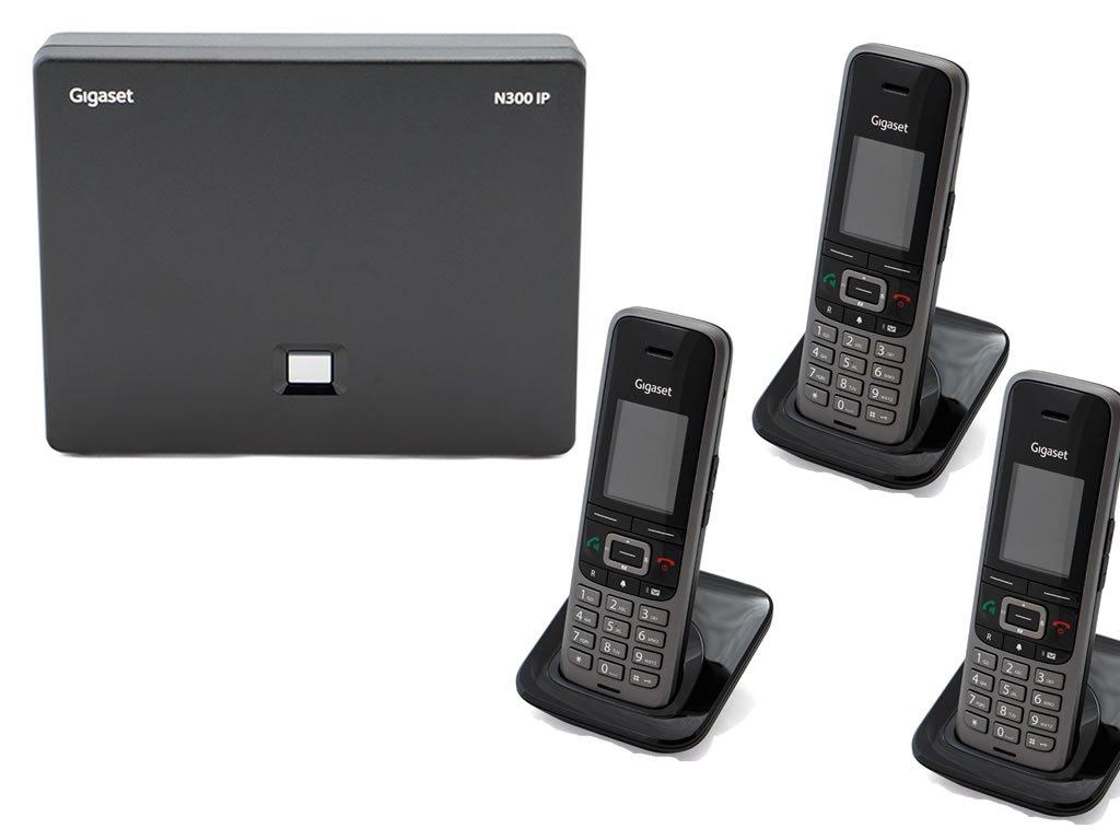 Gigaset N300 / 3 x S650 IP Bundle