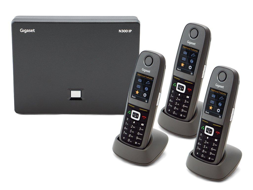 Gigaset N300 / 4 x R650 DECT IP Phone