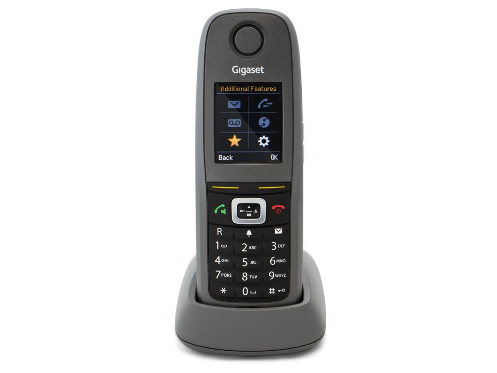 Gigaset N300 / 5 x R650 DECT IP Phone R650 Front