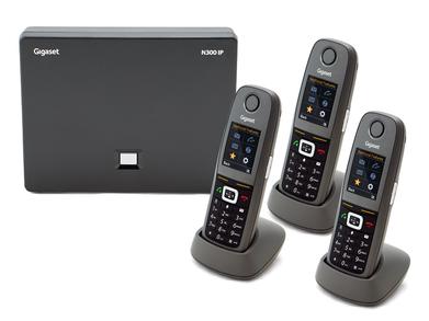 Gigaset N300 / 6 x R650 DECT IP Phone