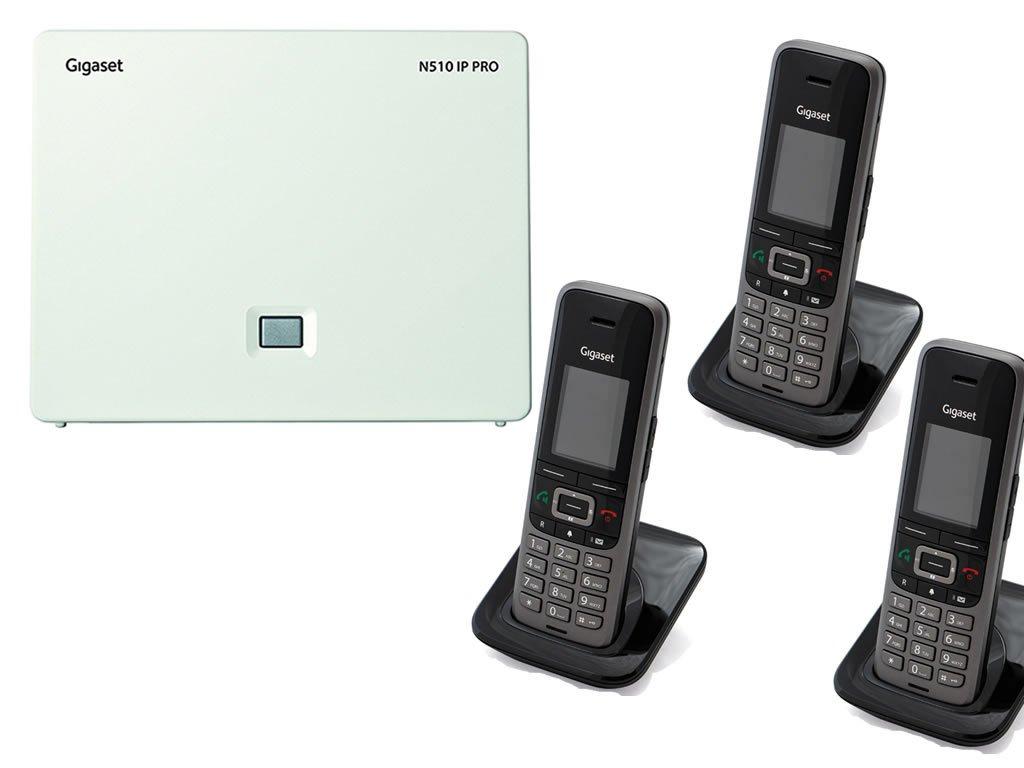 Gigaset N510 / 3 x S650 IP Bundle