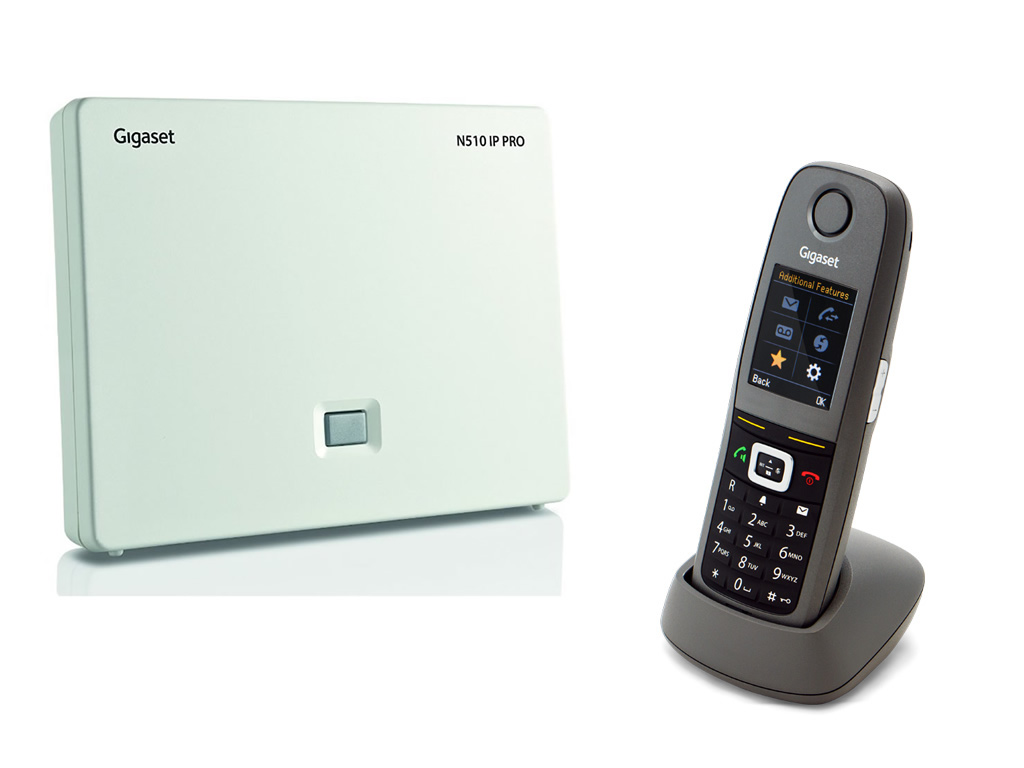 Gigaset N510 / R650 IP Bundle