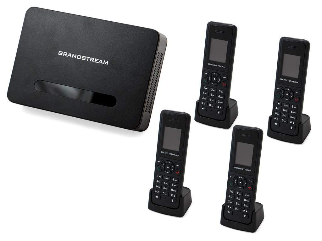 Grandstream 4 x DP 720 / 750 IP Bundle