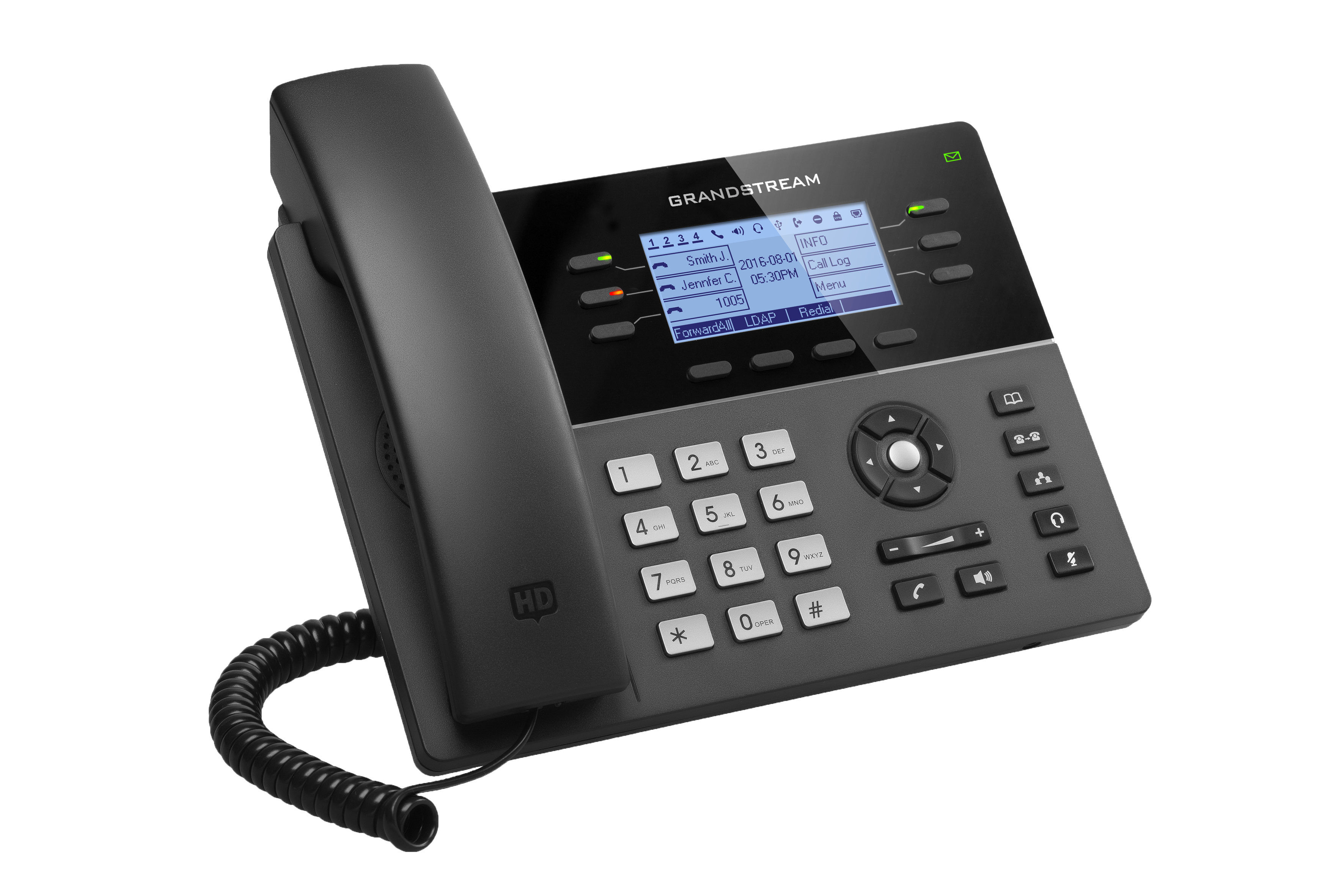 Grandstream GXP1760W IPPhone Front