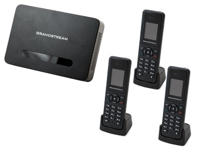 Grandstream 3 x DP 720 / 750 IP Phone Bundle DP750