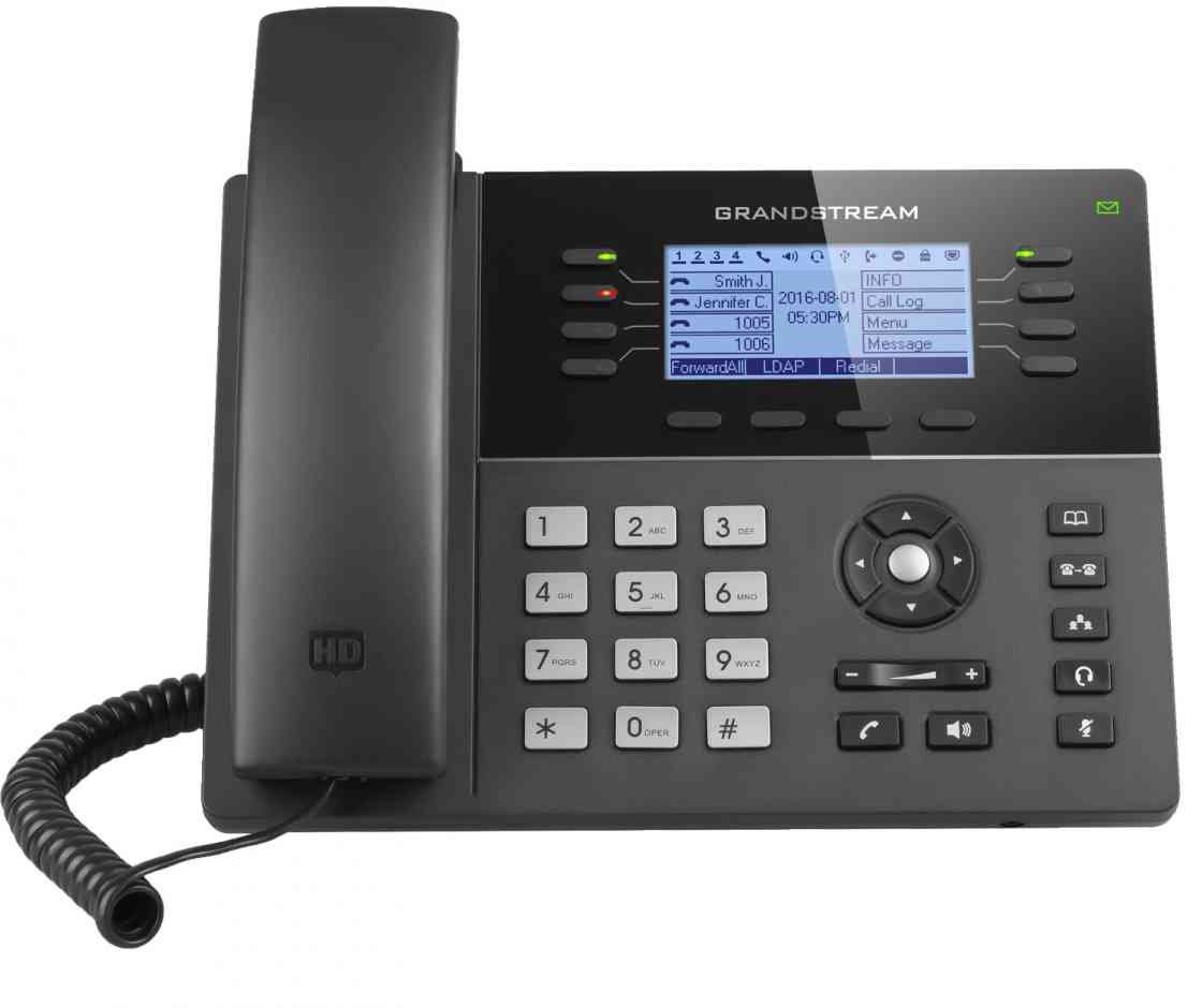 Grandstream GXP 1782 IP Phone Front