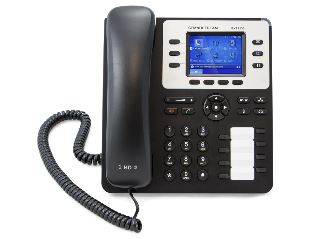 Grandstream GXP 2130 IP Phone Front