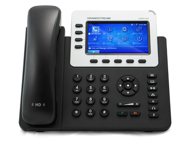 Grandstream GXP 2140 IP Phone Front