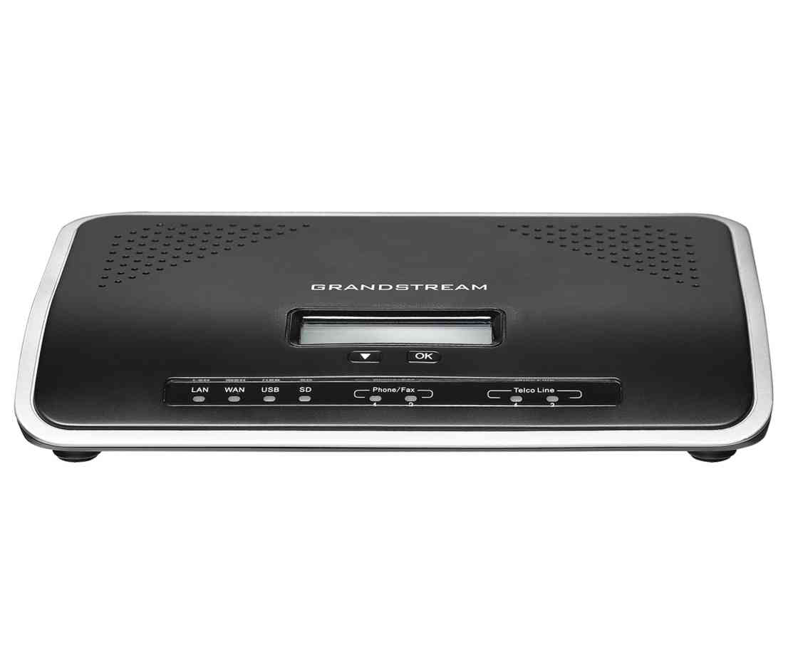 Grandstream UCM6204 4 Port IP PBX / 500 Users & 45 Concurrent Calls