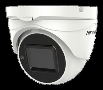 DS-2CE56H0T-IT3ZE 5MP PoC Turret Camera Left Side