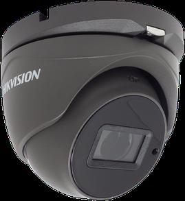 DS-2CE56H0T-IT3ZE-GREY 5MP PoC Turret Camera Side