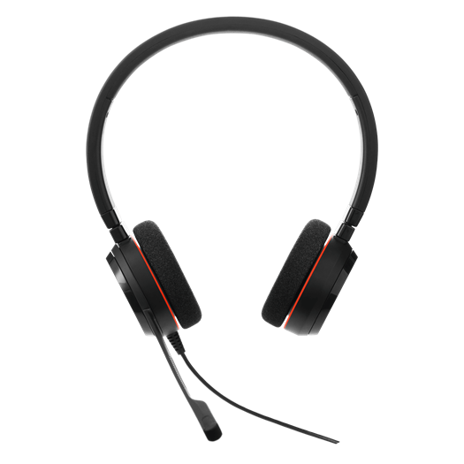 Jabra Evolve 75 Ms Duo Wireless Bluetooth Headset: Jabra Evolve 20 Wired MS Duo Headset