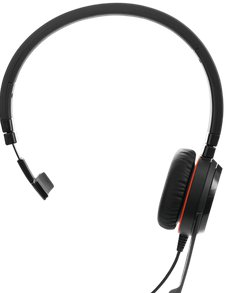 Jabra 30MONOMS-II Headset Front View