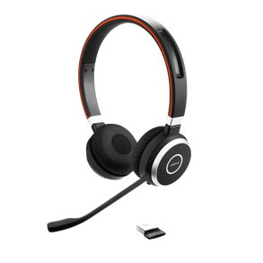 Jabra 65UCDUO headset front