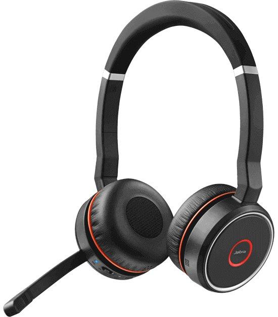 Jabra 75DUO Headset Side