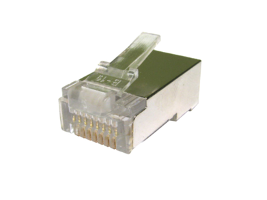 RJ45 Shielded Plug Connectors