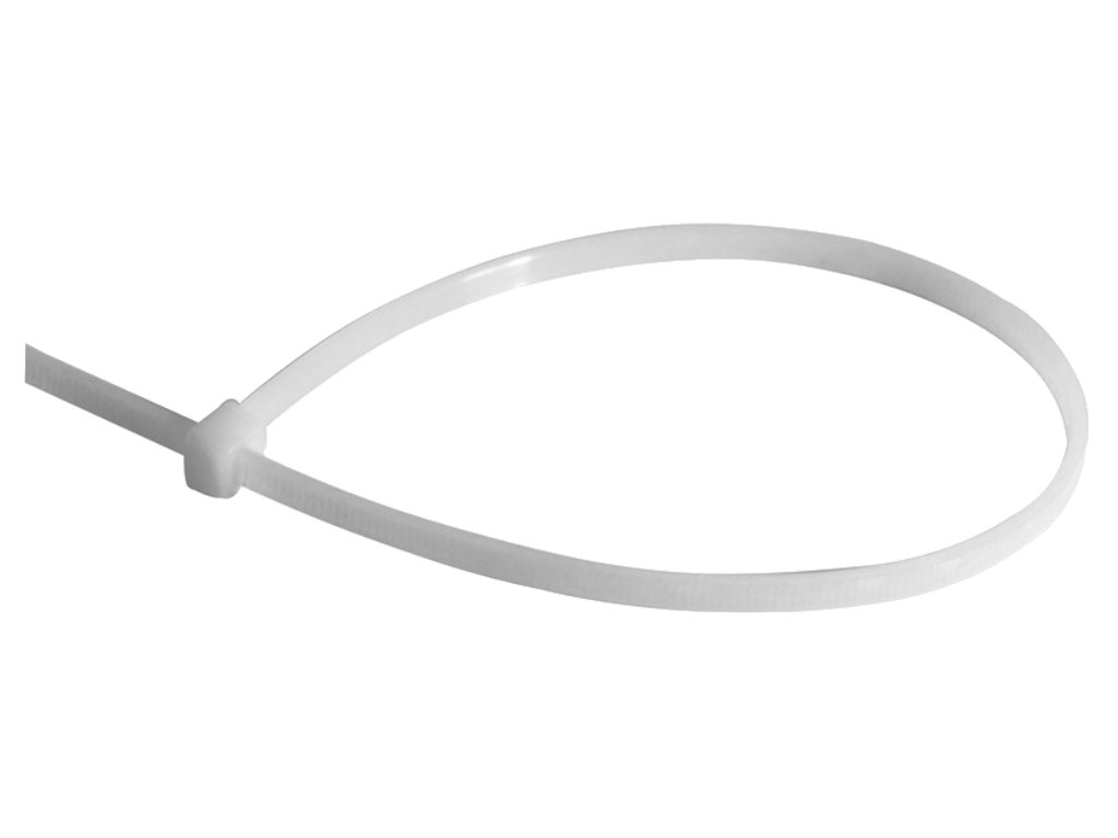 100 Cable Ties 200mm x 4.8