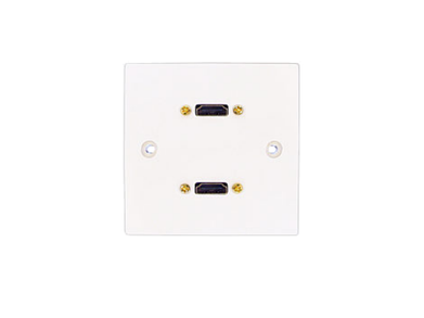 Single HDMI Wallplate