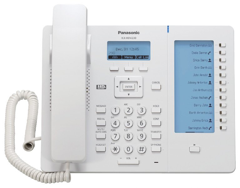 Panasonic KX-HDV230 IP Phone Front
