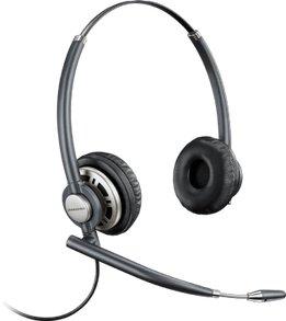 Plantronics HW720 EncorePro Binaural Headset Front