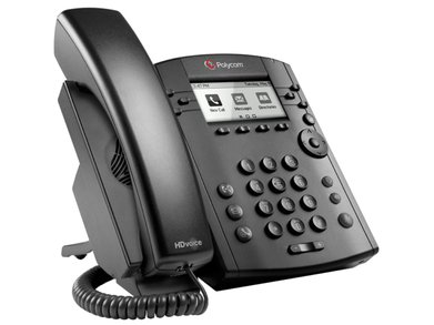 VVX 301 IP Phone Side