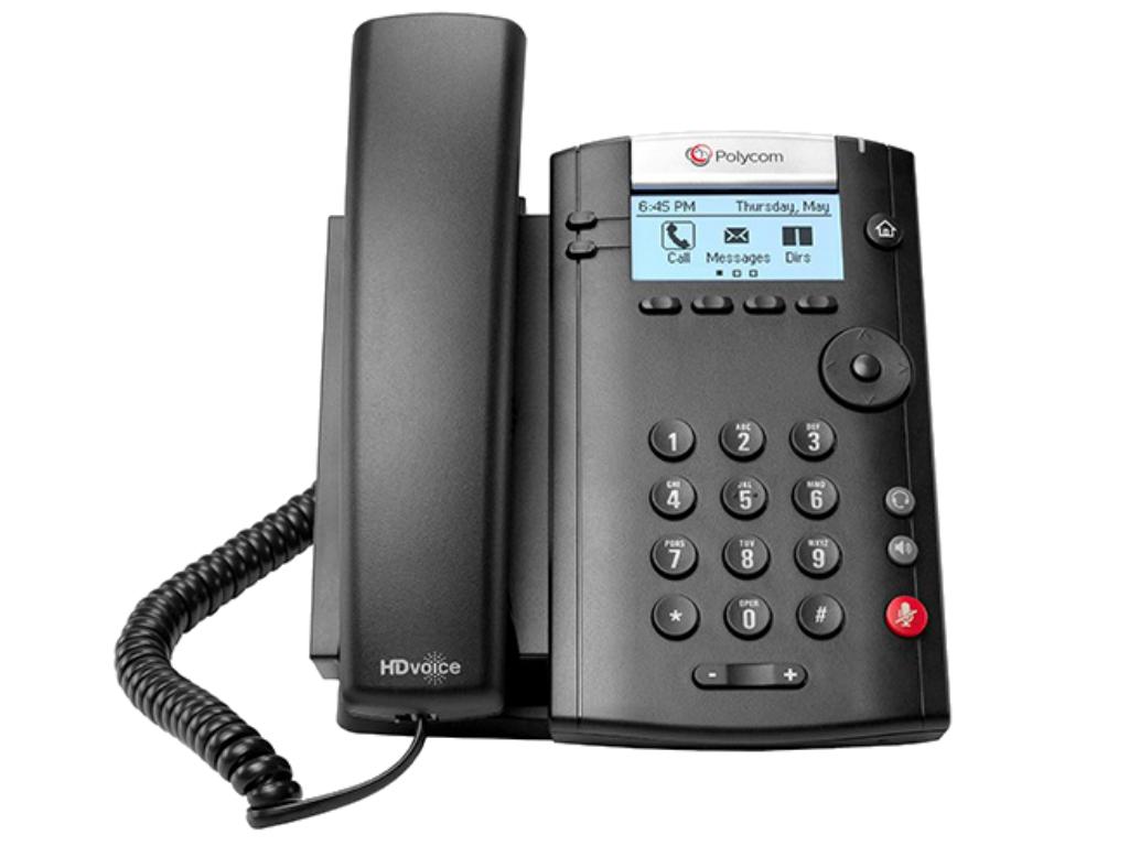 VVX201 VoIP phone