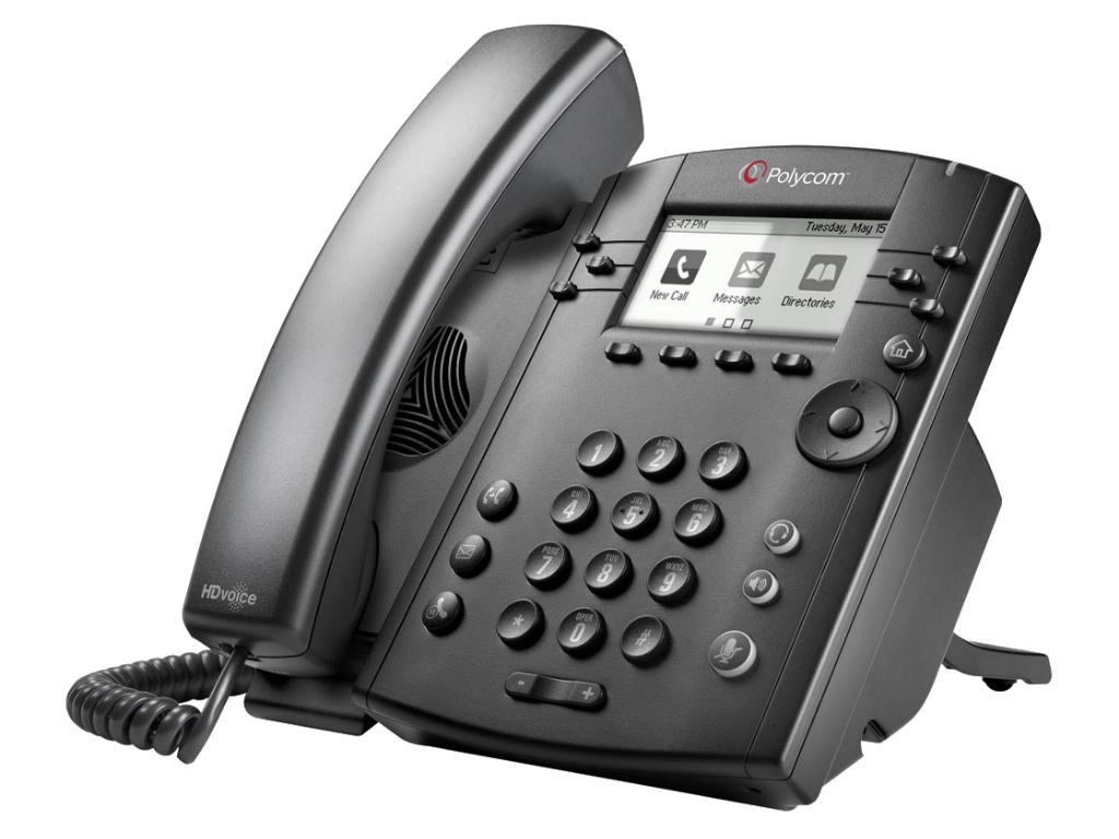 Polycom VVX311 VoIP phone