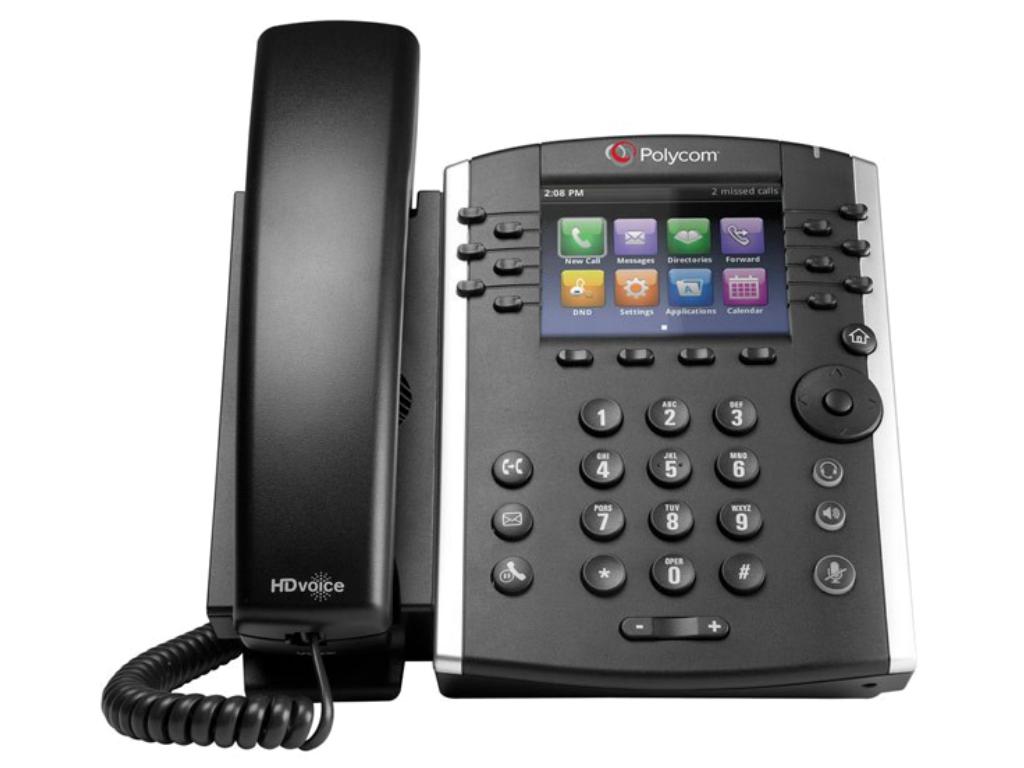 Polycom VVX401 VoIP phone